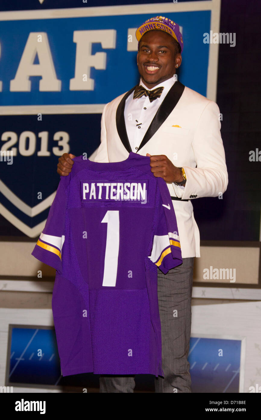 on sale a69c5 c7185 April 25, 2013: Cordarrelle Patterson, wide receiver from ...