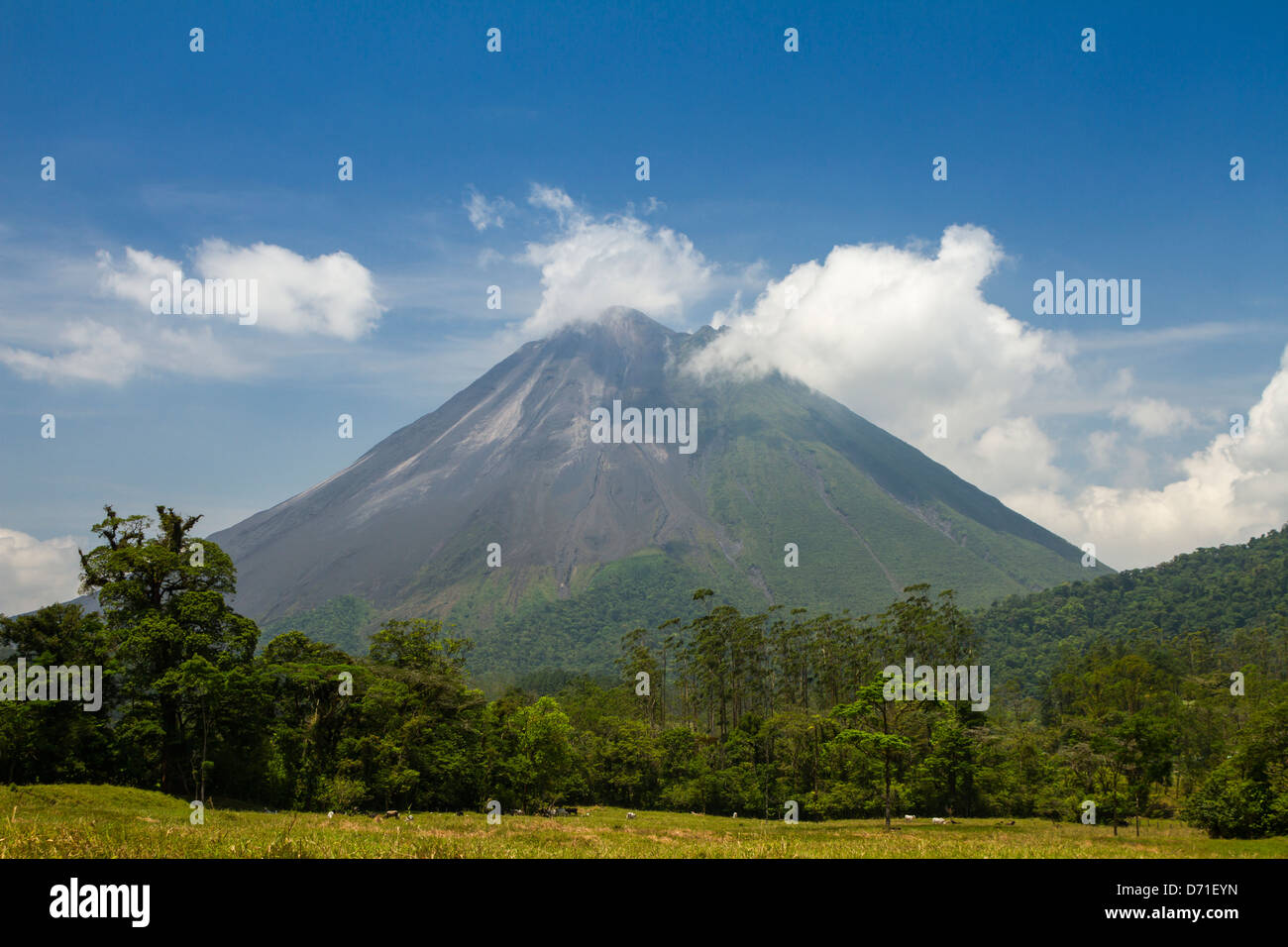 Arenal Volcano, Arenal Volcano National Park, Costa Rica - Stock Image