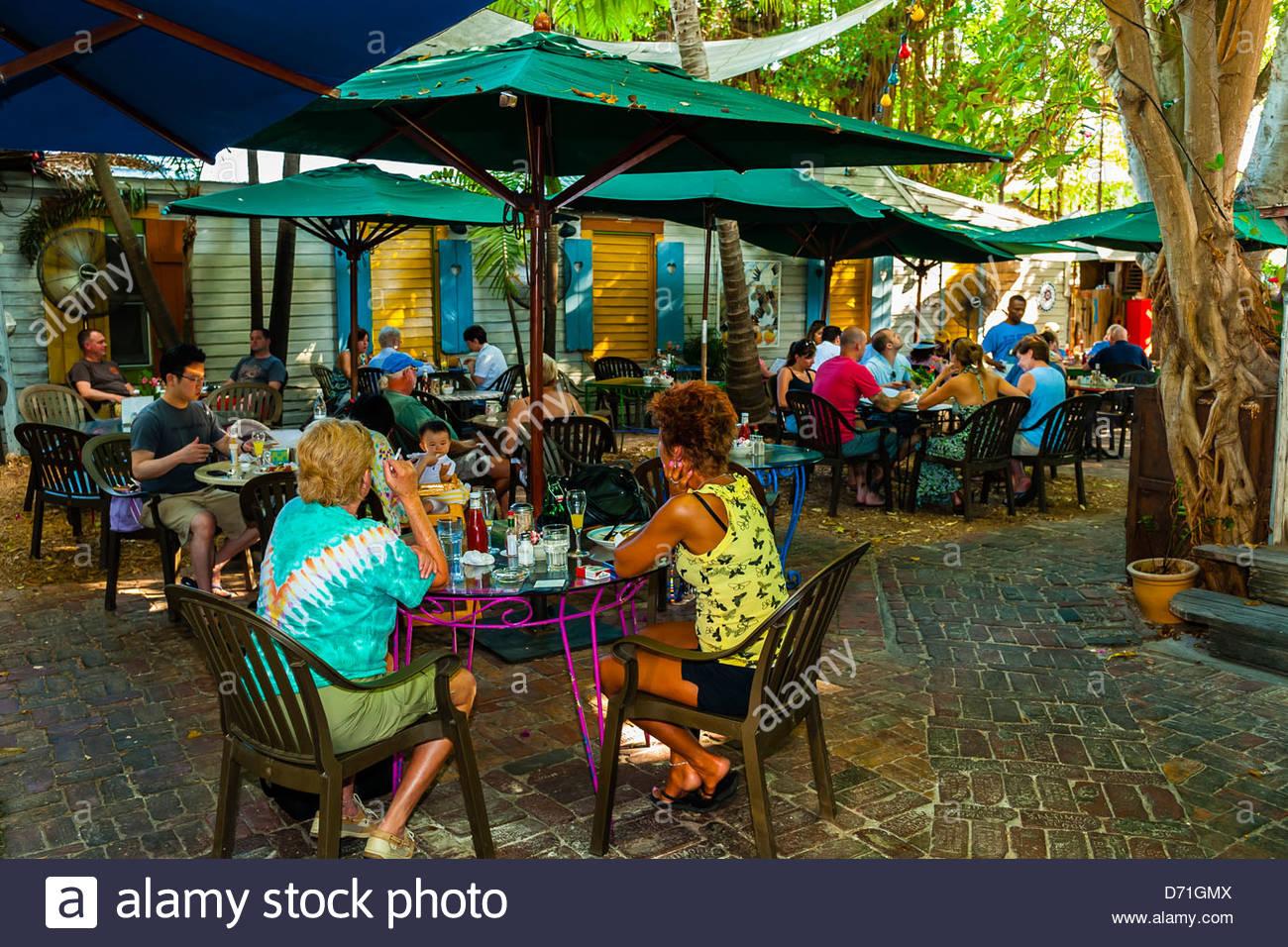 Blue Heaven Restaurant Bahama Village Key West Florida