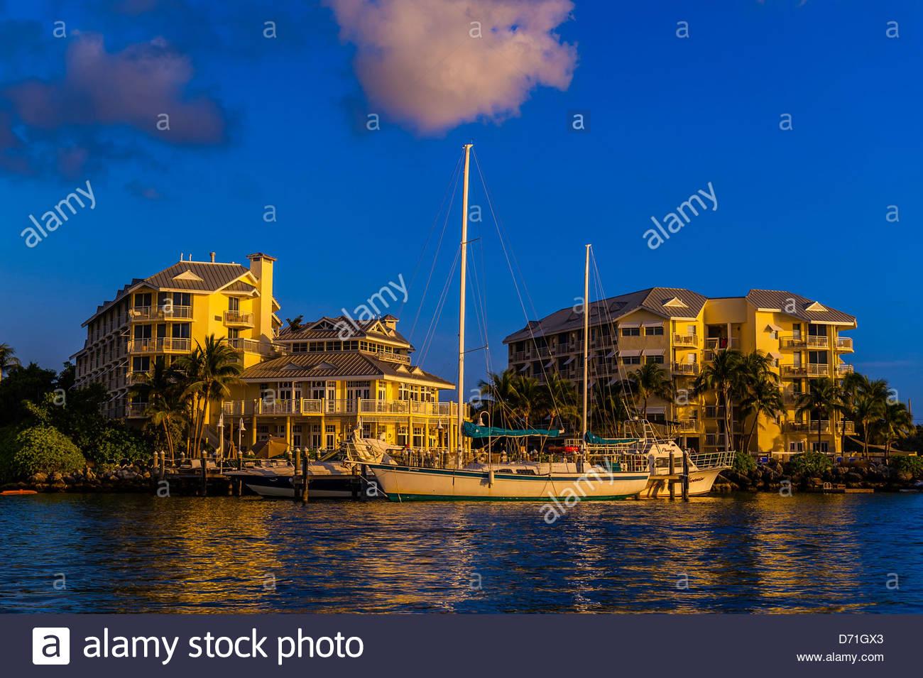 Near Mallory Square, Key West, Florida Keys, Florida USA - Stock Image
