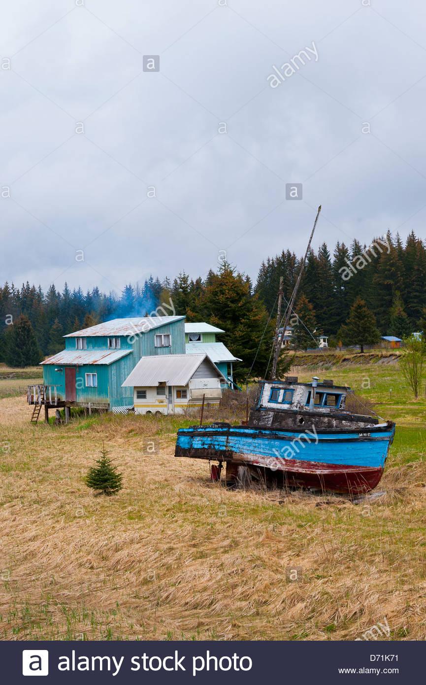 Gustavus, Glacier Bay, southeast Alaska USA - Stock Image