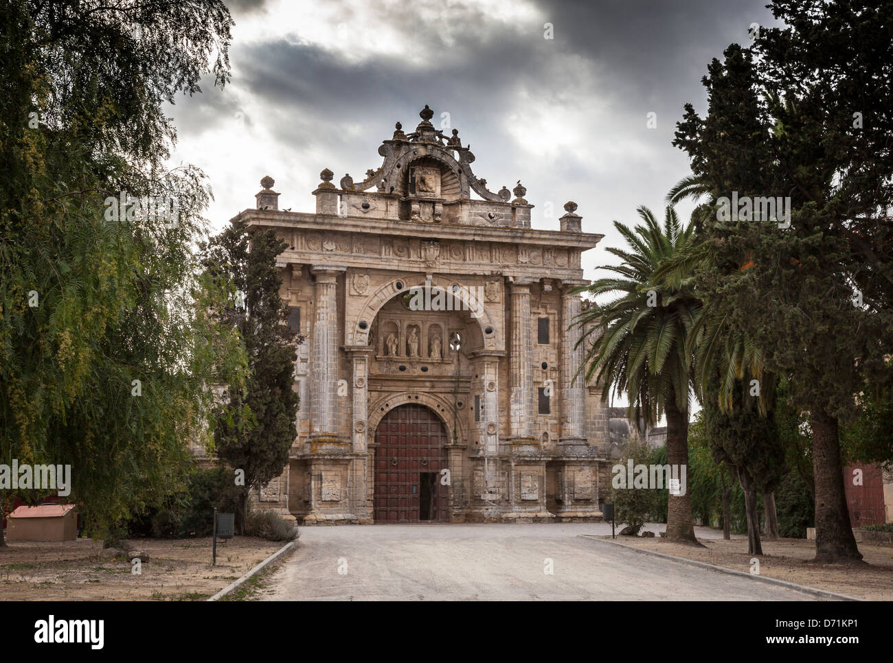 CARTUJA MONASTERY OF JEREZ, CADIZ, SPAIN - Stock Image