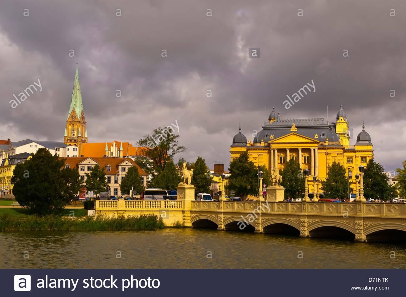 Schwerin, Mecklenburg-West Pomerania, Germany - Stock Image