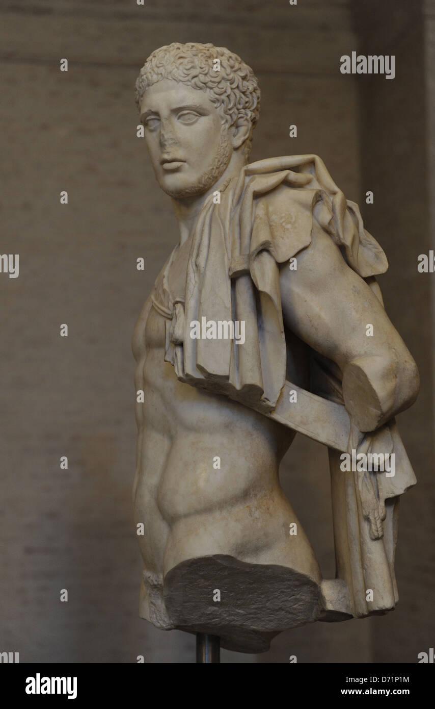 Greek art. Diomedes. Roman sculpture after original of about 430 BC. Glyptothek. Munich. Germany. Stock Photo