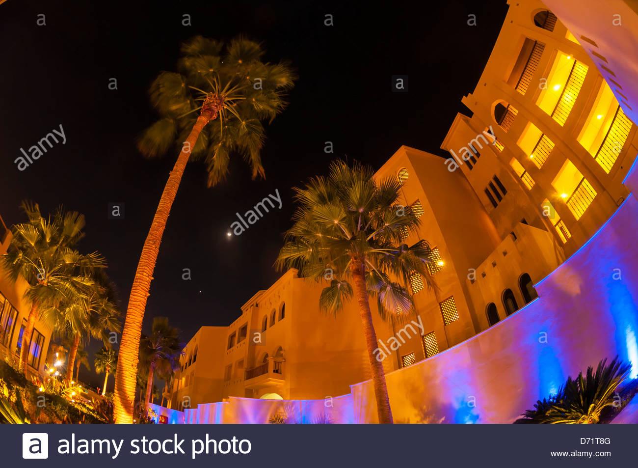 Radisson Blu Tala Bay Resort on the Gulf of Aqaba, Red Sea, near Aqaba, Jordan. - Stock Image