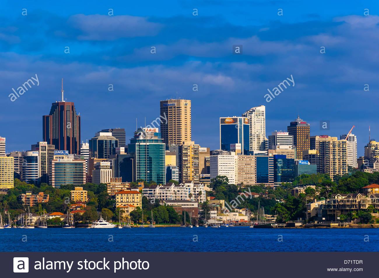 Kirribilli, Sydney, New South Wales, Australia - Stock Image