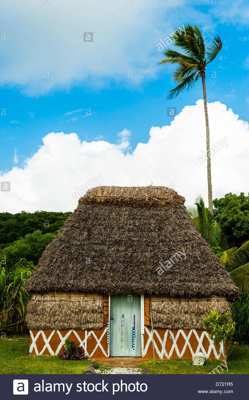 Chez Nath, Kaewatin, island of Mare, Loyalty Islands, New Caledonia - Stock Image