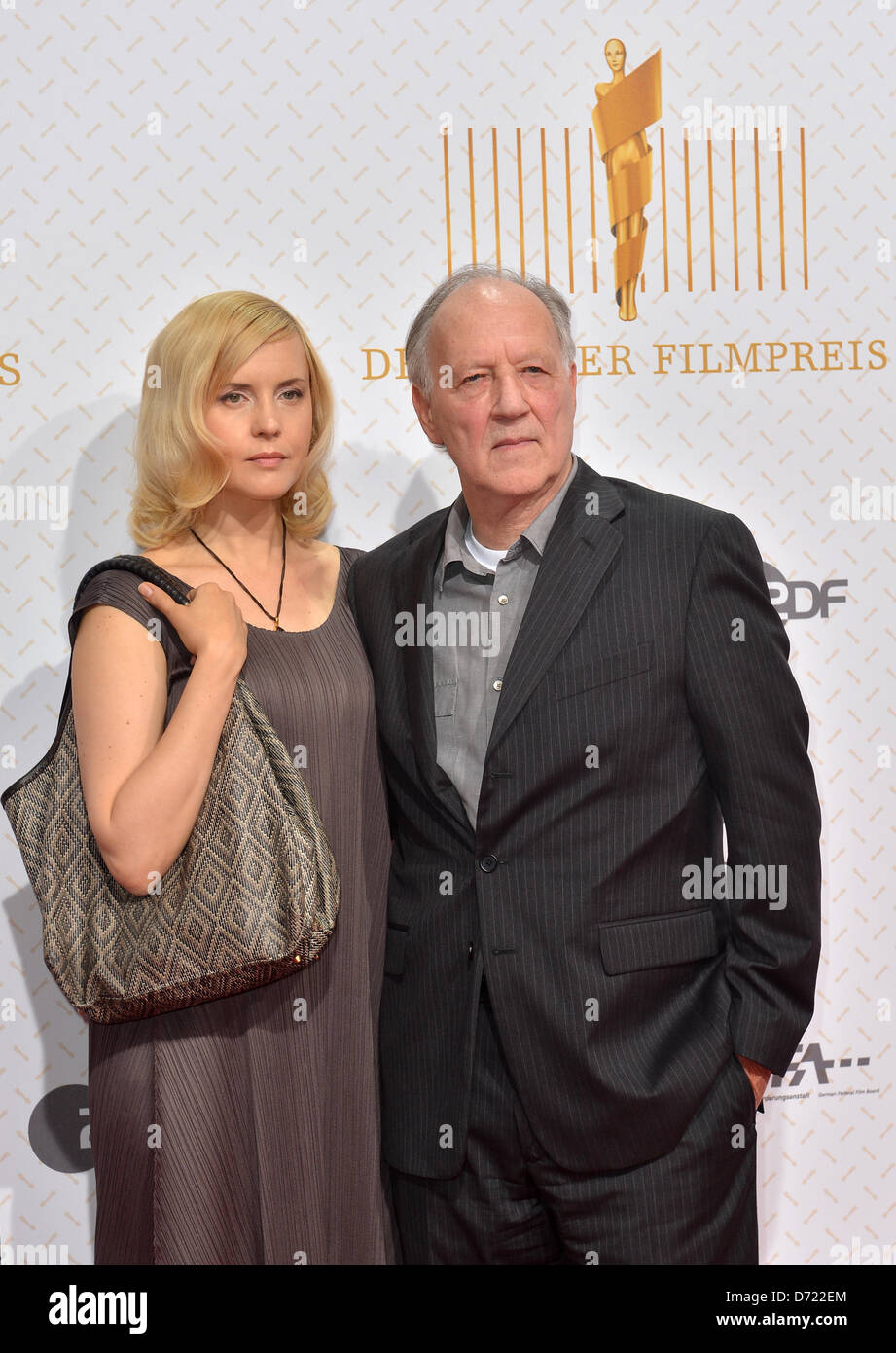 Director Werner Herzog and his wife Lena Herzog arrive to ...