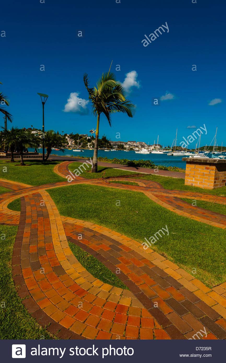 Orphelinat Bay, Noumea, Grand Terre, New Caledonia - Stock Image