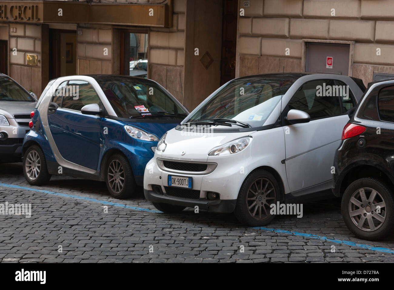 Car Parking In Roma