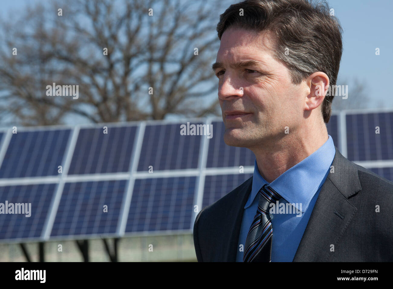 Gerry Anderson, chairman and CEO of DTE Energy - Stock Image