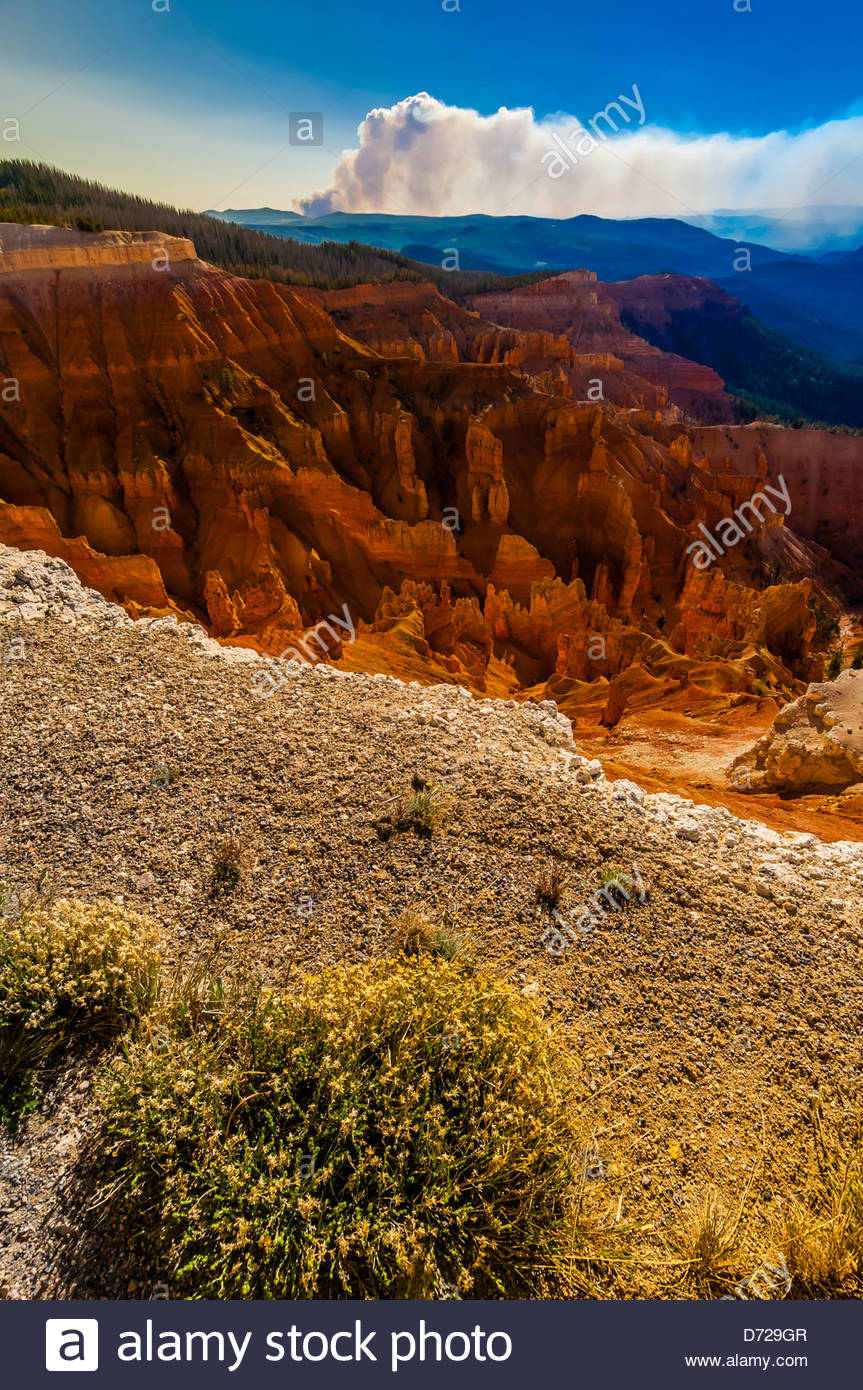 Cedar Breaks National Monument, Utah, USA - Stock Image