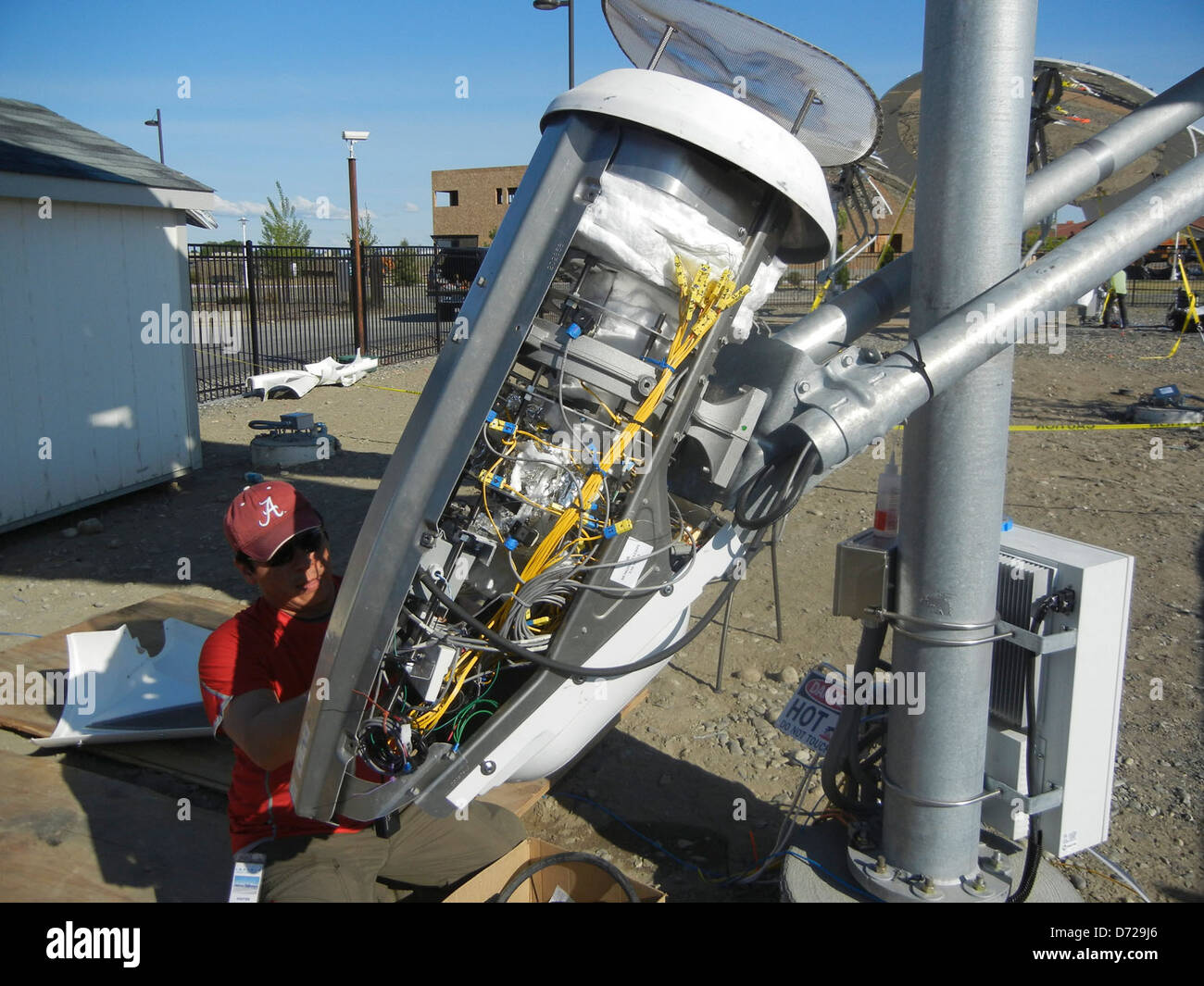 Concentrating Solar Power - Stock Image