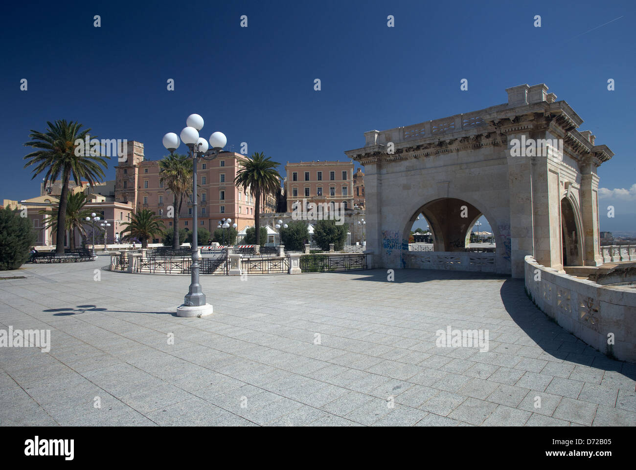 Palaces Of Cagliari Stock Photos Palaces Of Cagliari Stock