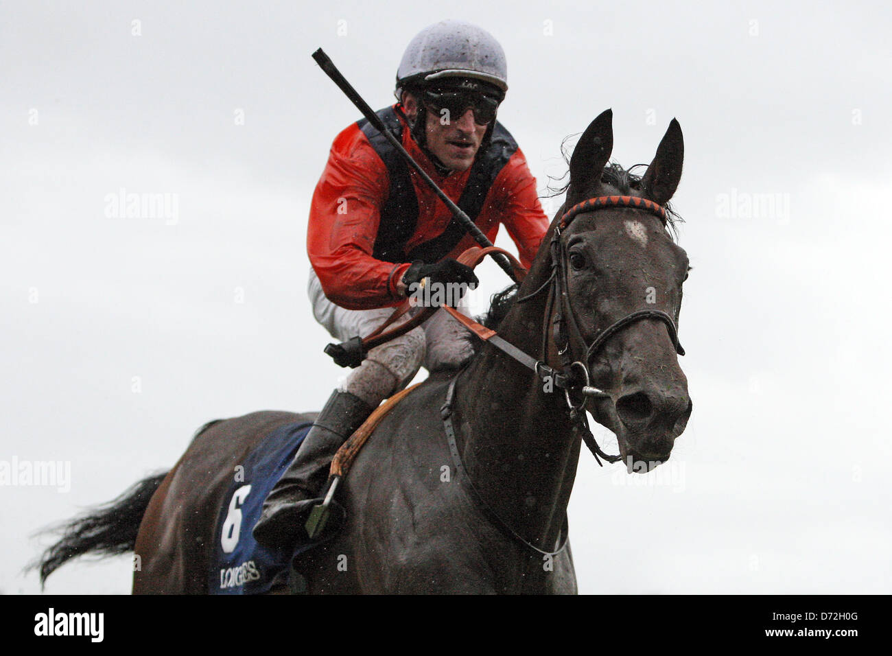 Iffezheim, Germany, Danedream with Andrasch Starke wins the Longines Grand Prix of Baden - Stock Image