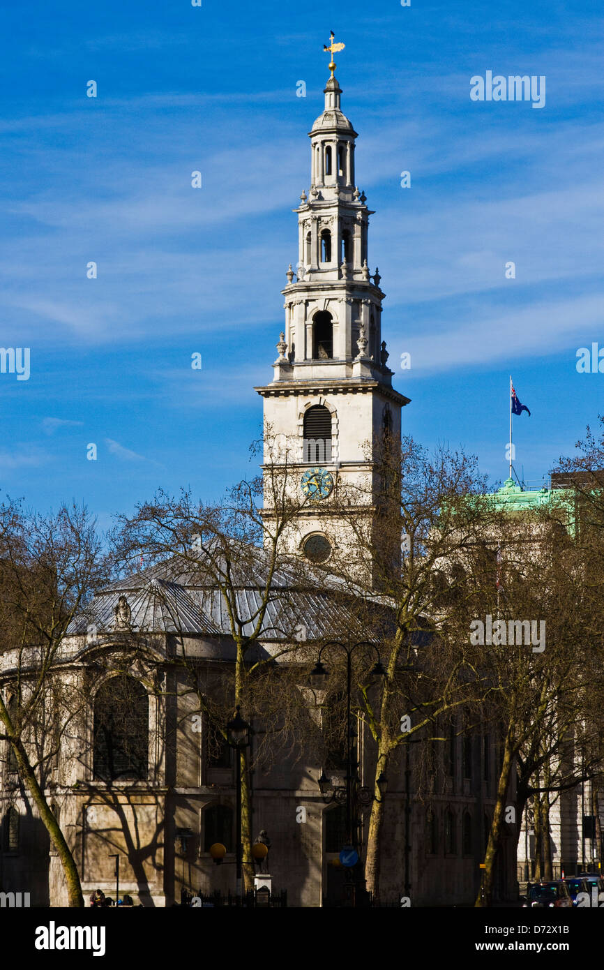 St.Clement Danes church - Stock Image