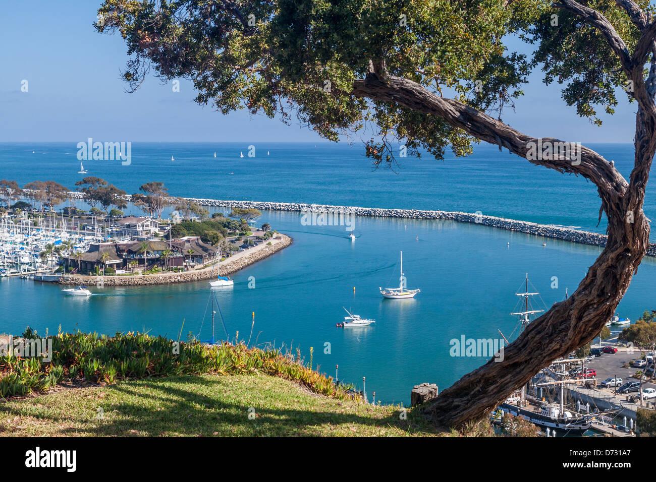 Dana Point Harbor, California - Stock Image