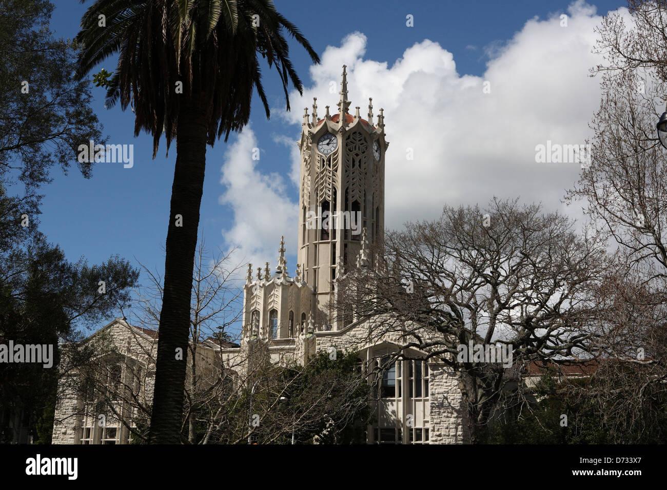 Auckland University Stock Photo