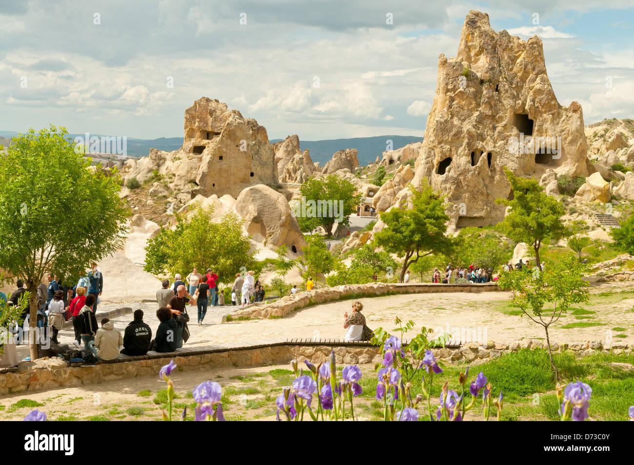 Open Air Museum, Goreme, Cappodocia, Nevsehir, Turkey - Stock Image