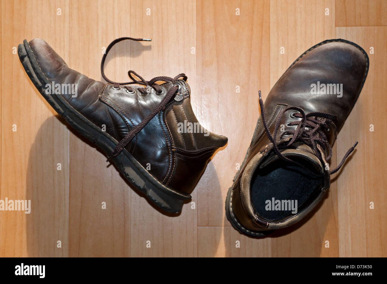 Josef Seibel mens boots Stock Photo - Alamy