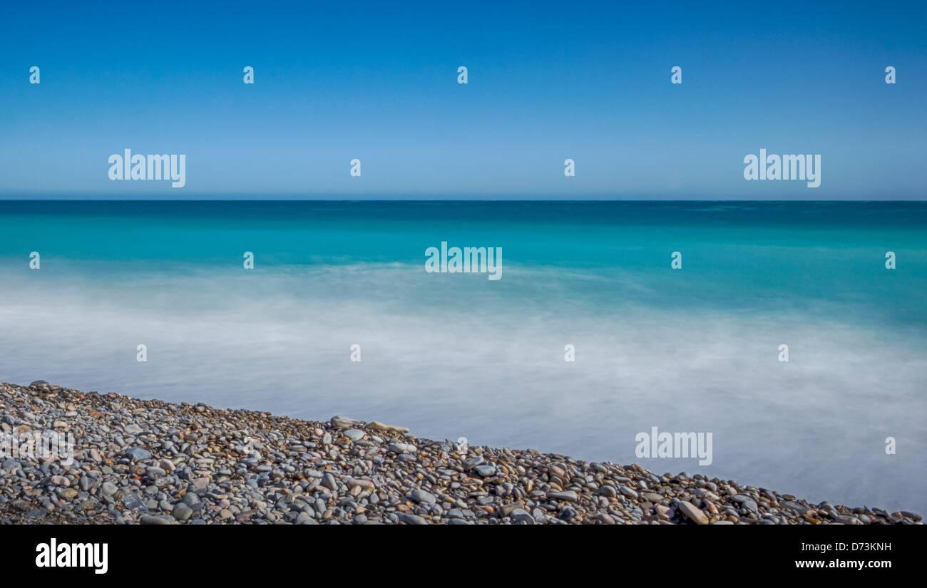 Minimal landscape - Stock Image