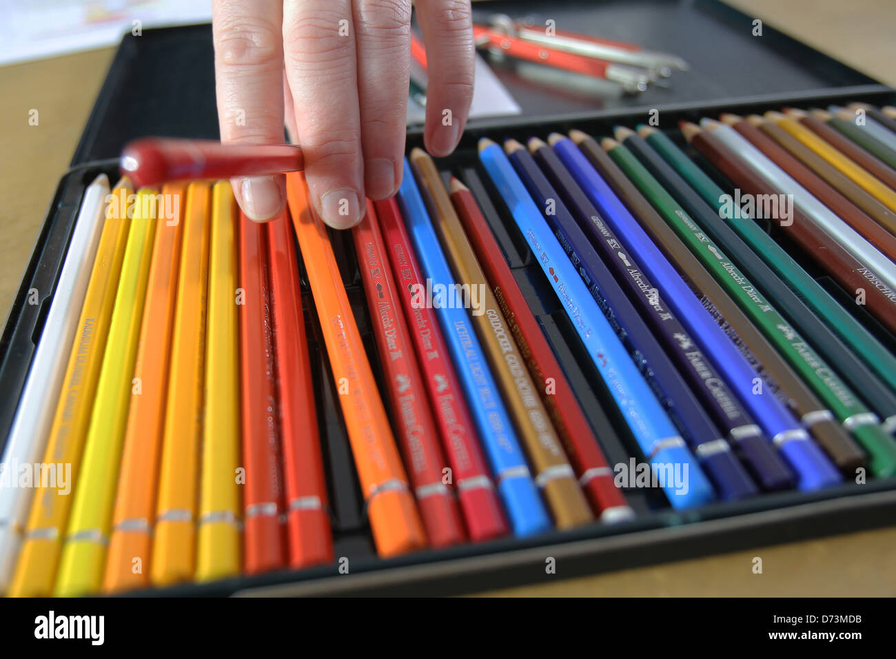 faber castell pencil stock photos faber castell pencil stock images alamy. Black Bedroom Furniture Sets. Home Design Ideas