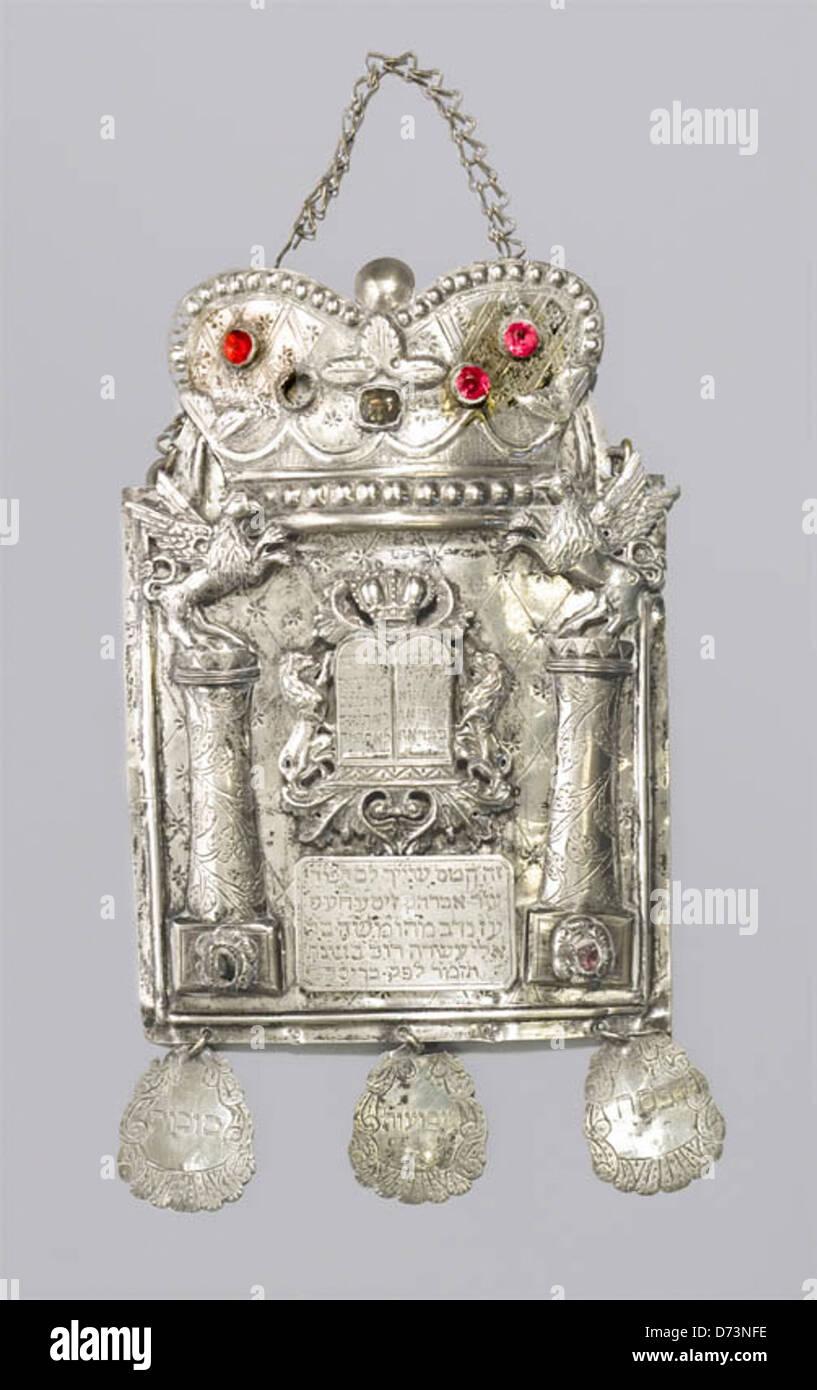 Torah shield Stock Photo
