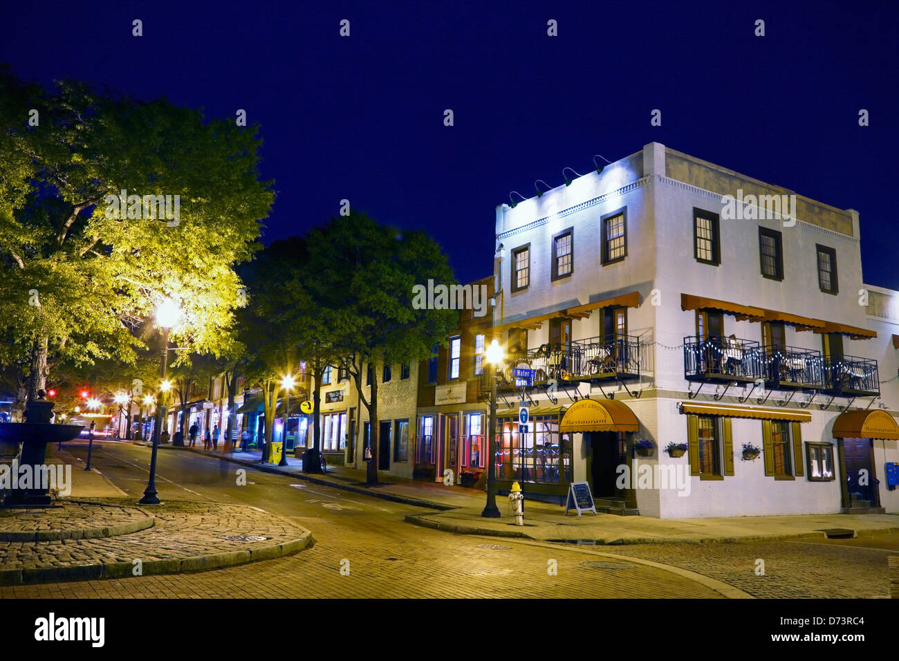 Wilmington North Carolina Nc The Riverboat Landing Restaurant On