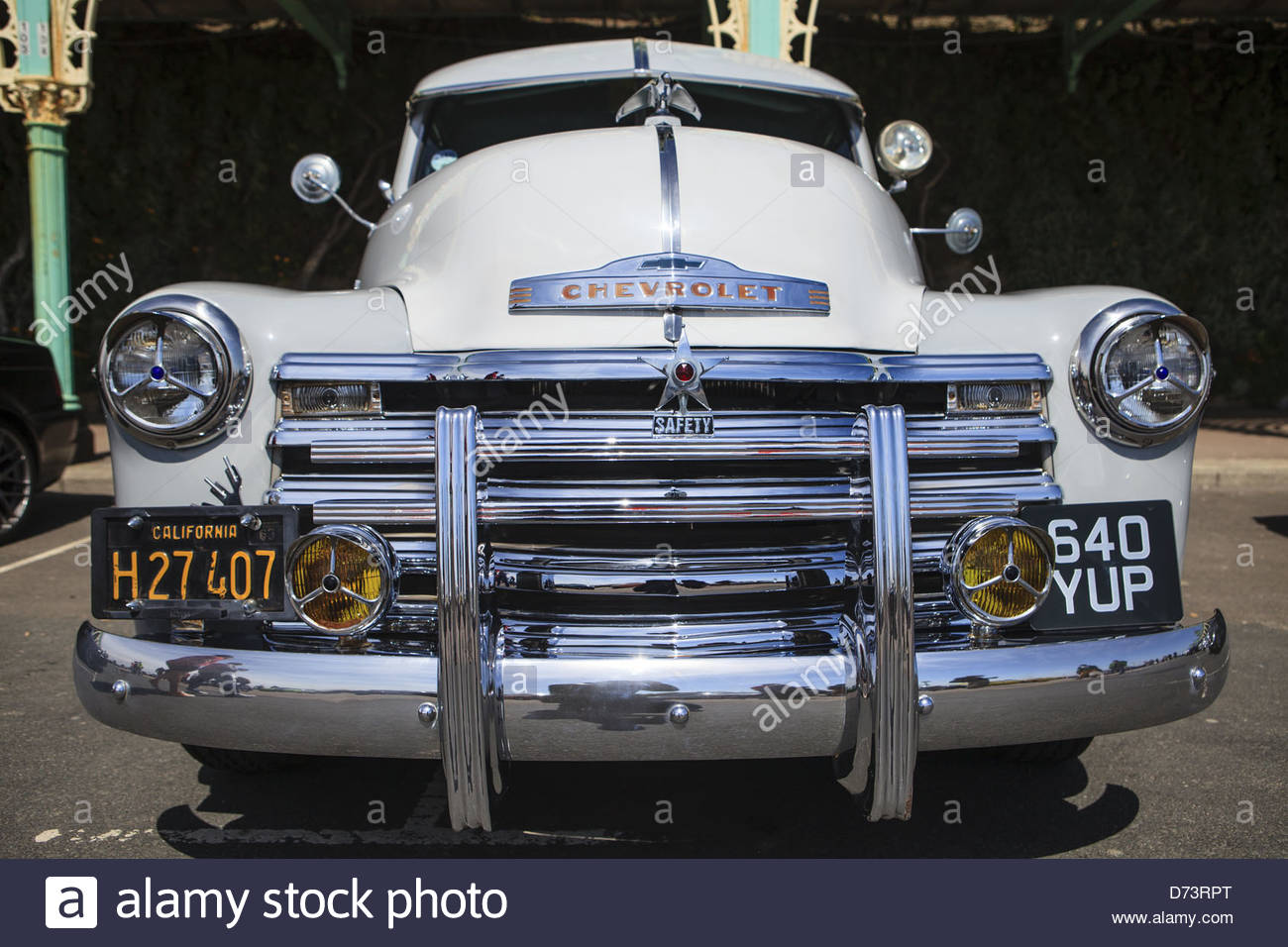 Front view of an old Chevrolet pickup truck, at the 3rd InCarNation ...