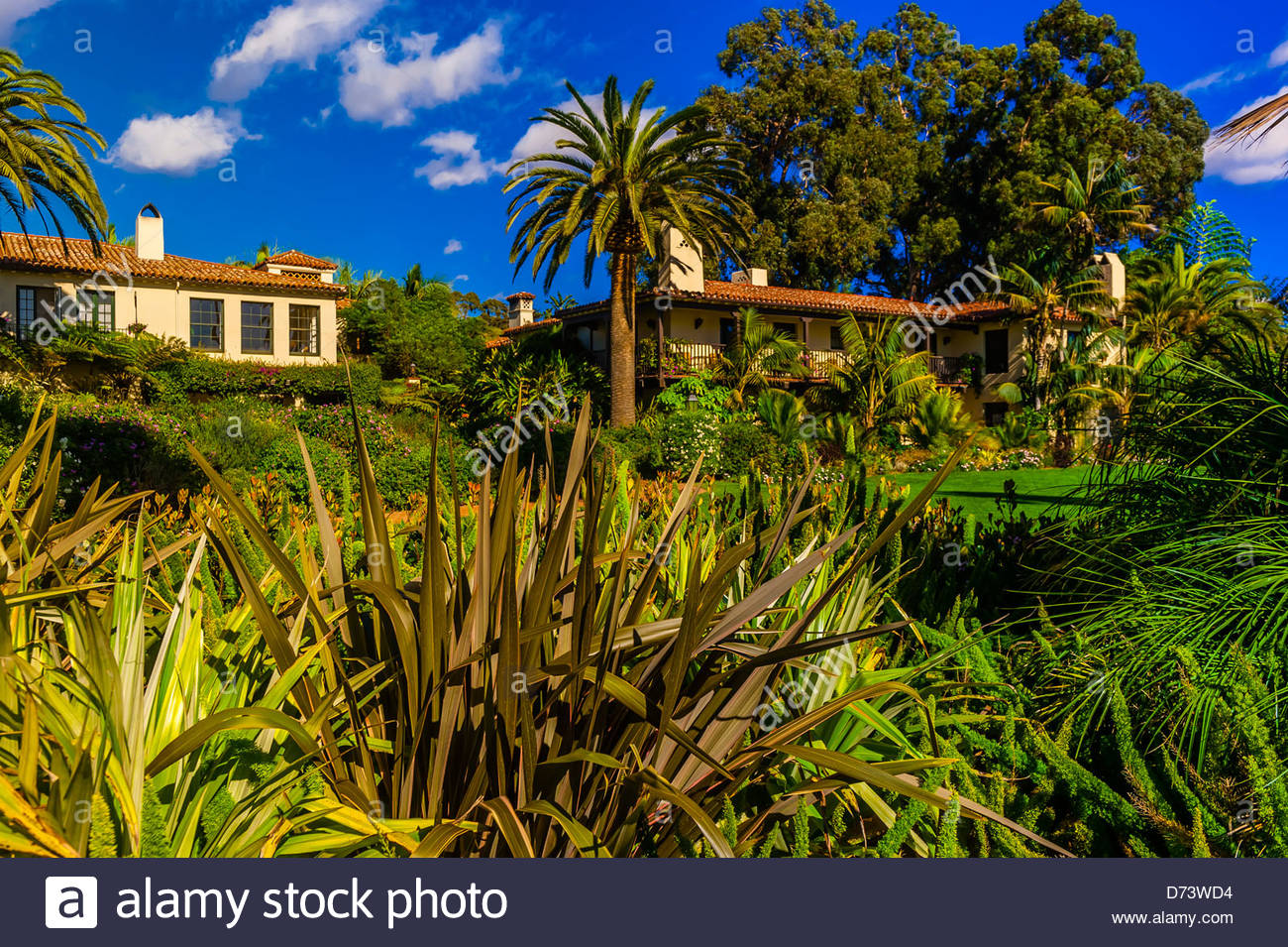 Four Seasons Biltmore Hotel, Montecito (Santa Barbara), California USA. - Stock Image