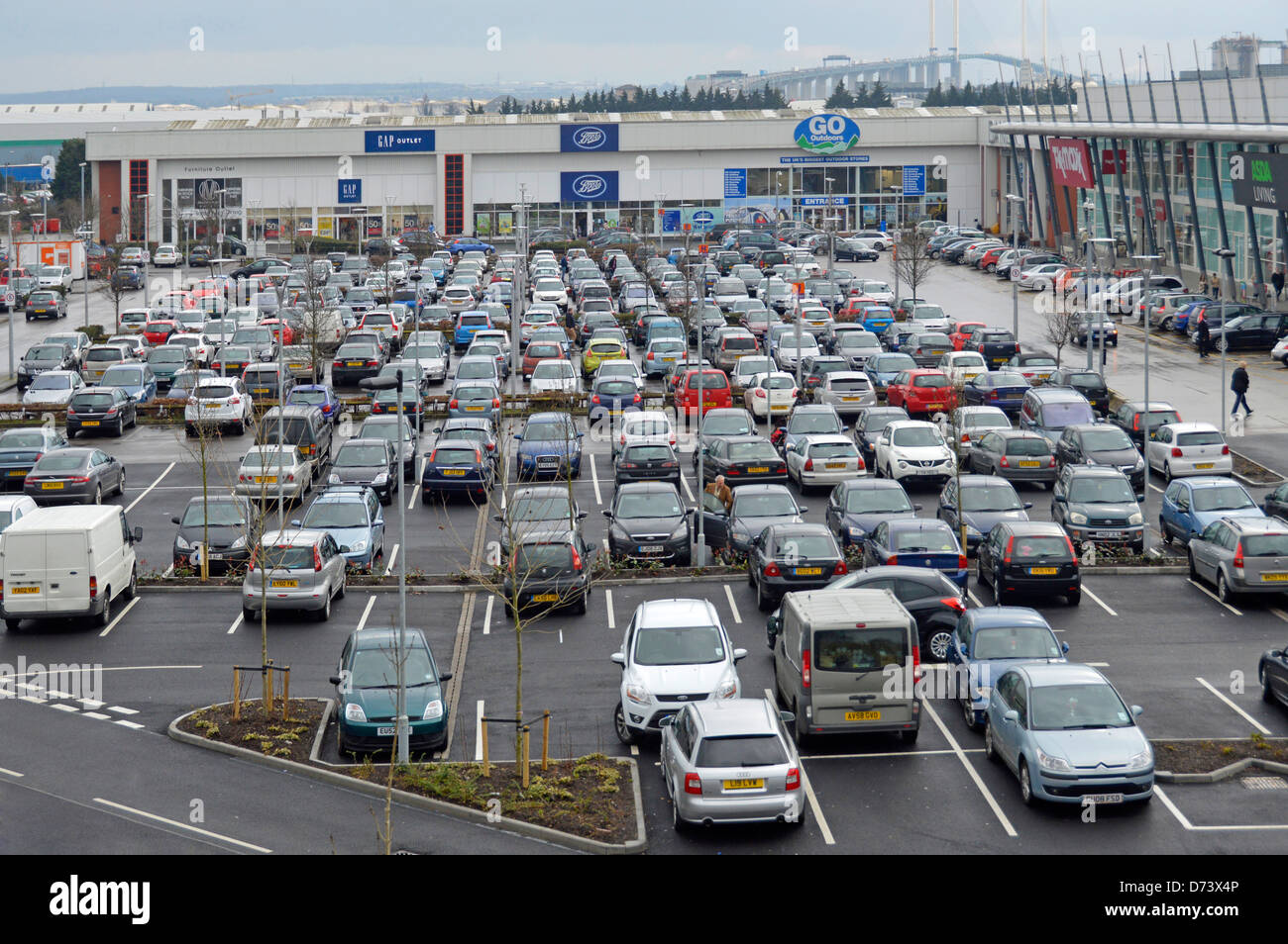 Shopping Centre Car Park High