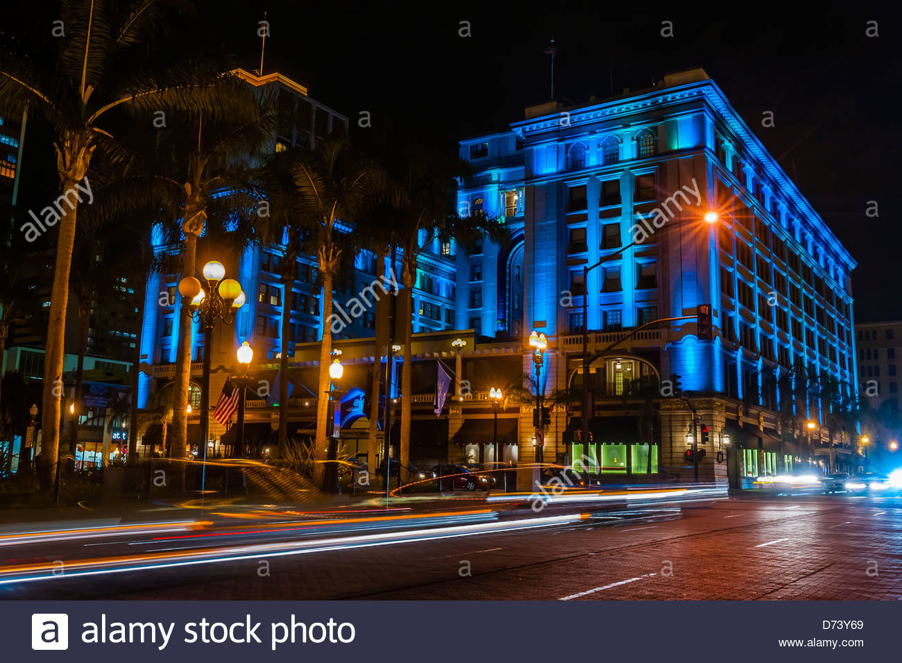U S Grant Hotel Gaslamp Quarter Downtown San Diego California