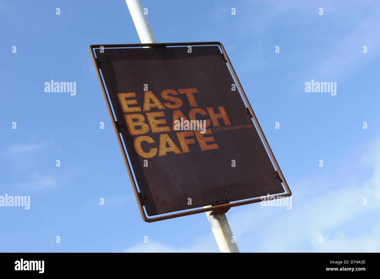 East Beach Cafe, Littlehampton, West Sussex by architect Thomas Heatherwick Stock Photo