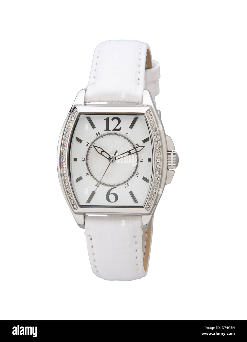 The elegance wristwatch decorated by crystal nice for you - Stock Image