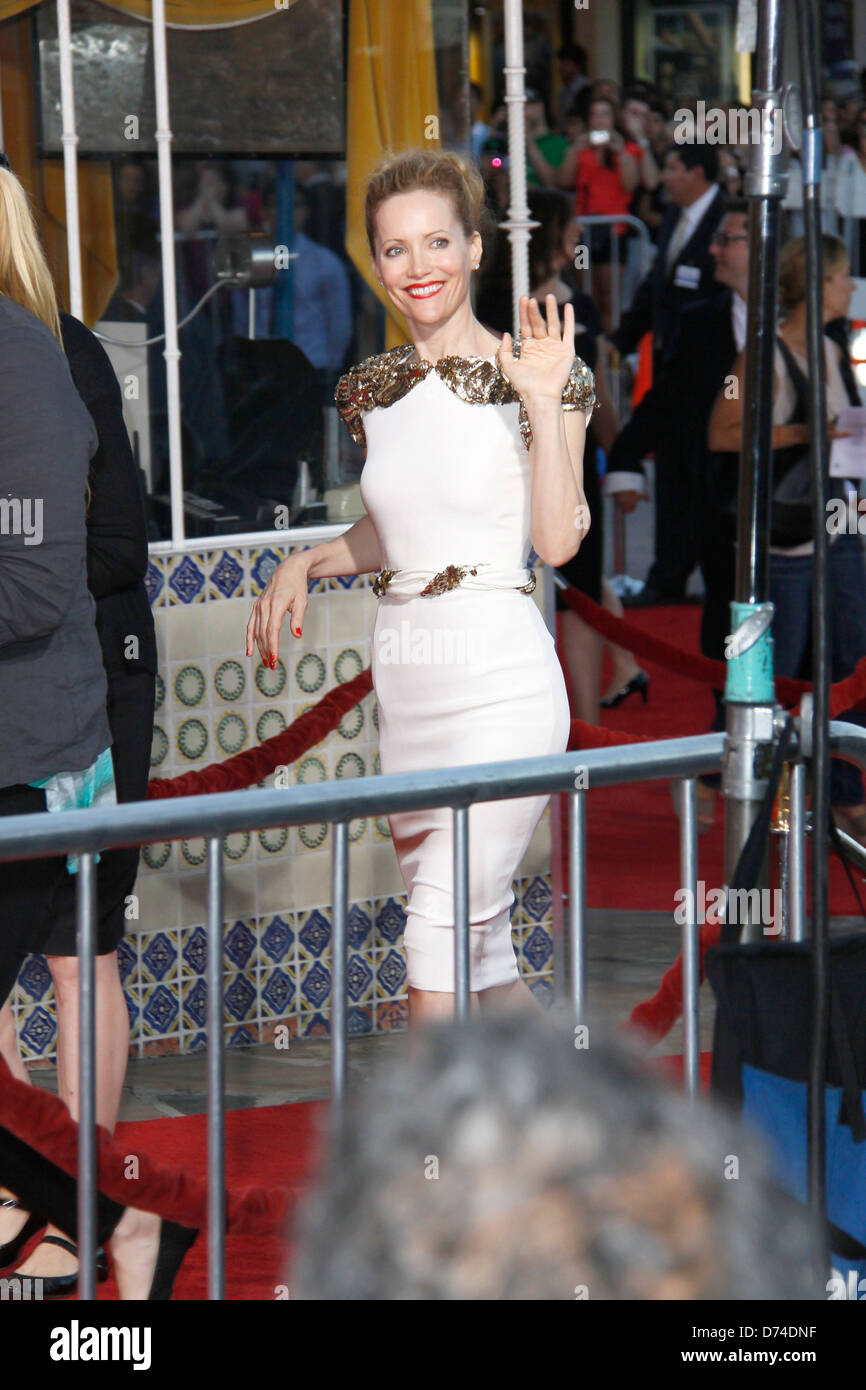 Leslie Mann 'The Change-Up' Los Angeles Premiere held at The Regency Village Theatre - Outside Arrivals - Stock Image