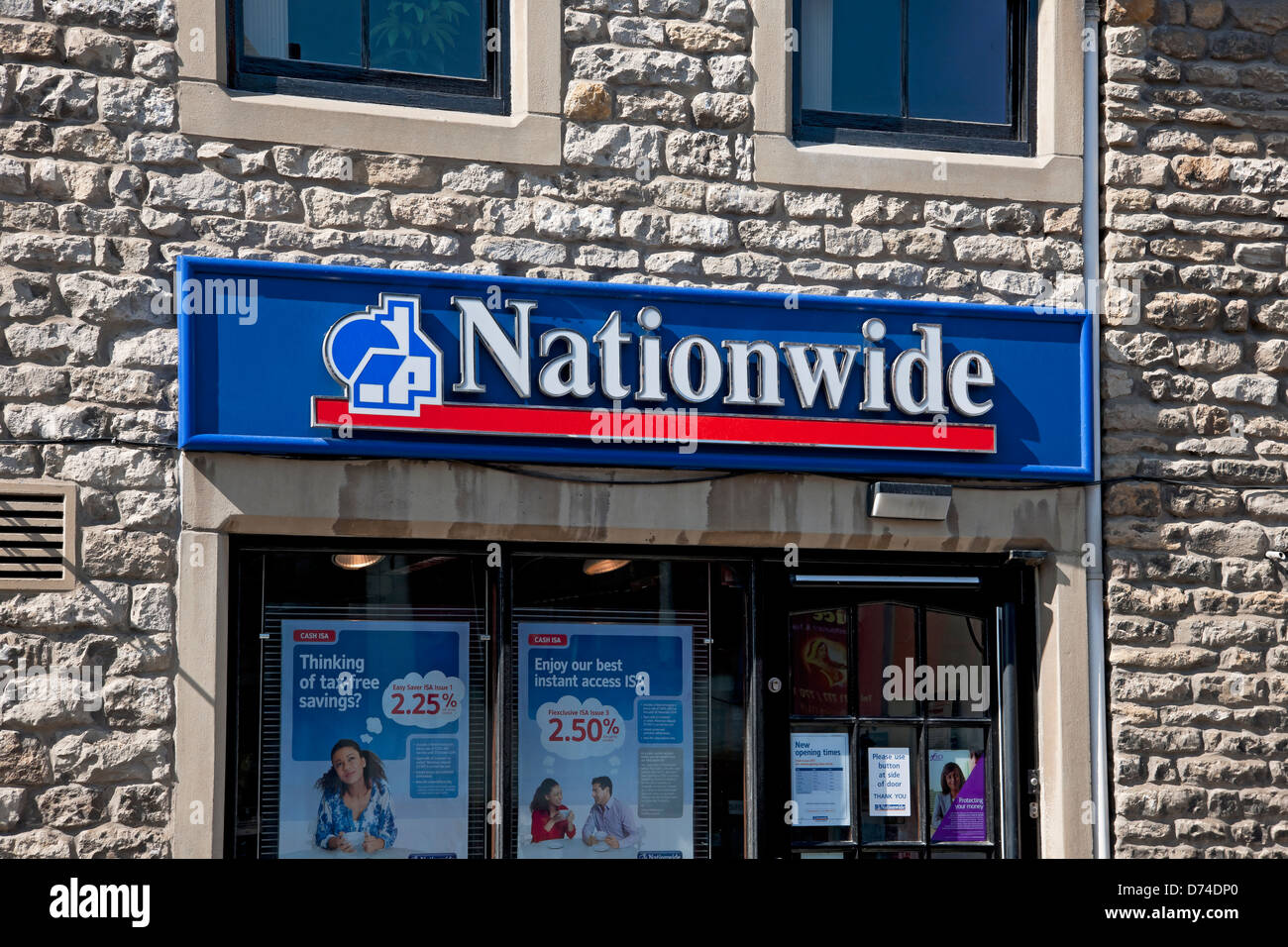 Nationwide Building Society branch England UK United Kingdom GB Great Britain - Stock Image