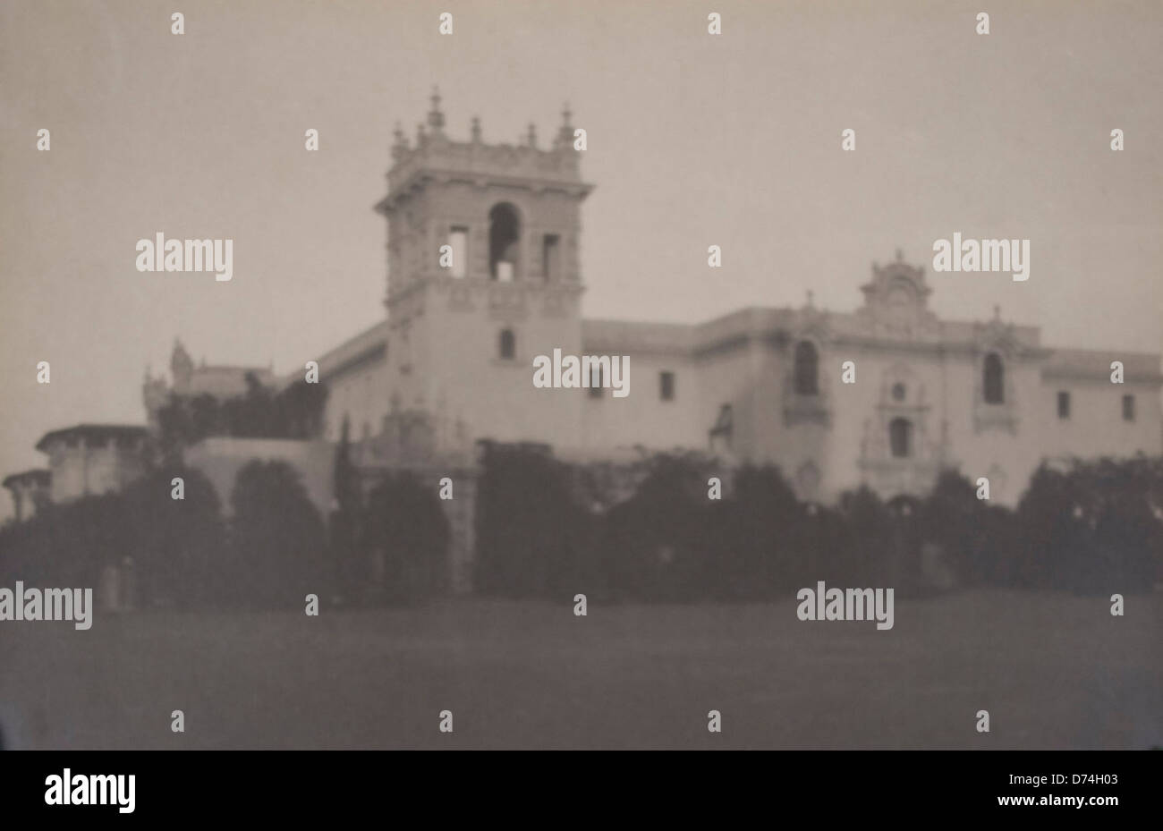 Foreign Arts Building (Panama-California Exposition) - Stock Image