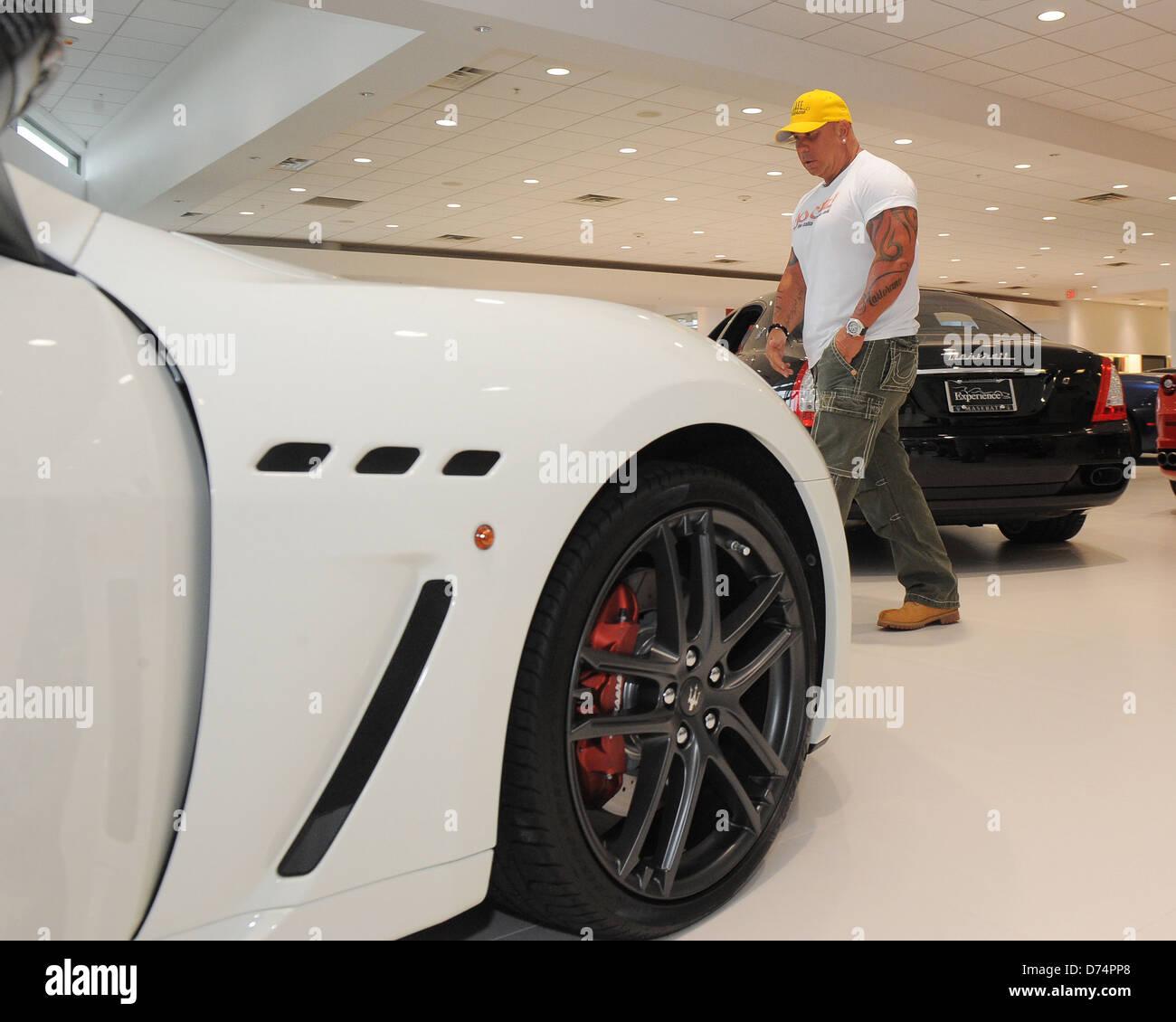 Steve Martorano Receives A Delivery Of His New Maserati Granturismo MC  Stradale At Ferrari Maserati Of Fort Lauderdale Fort