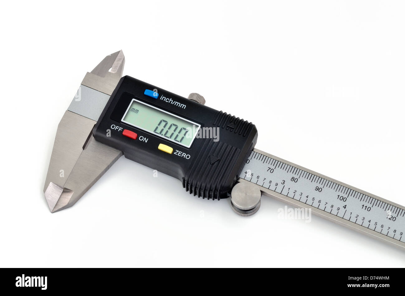 Digital Caliper - Stock Image