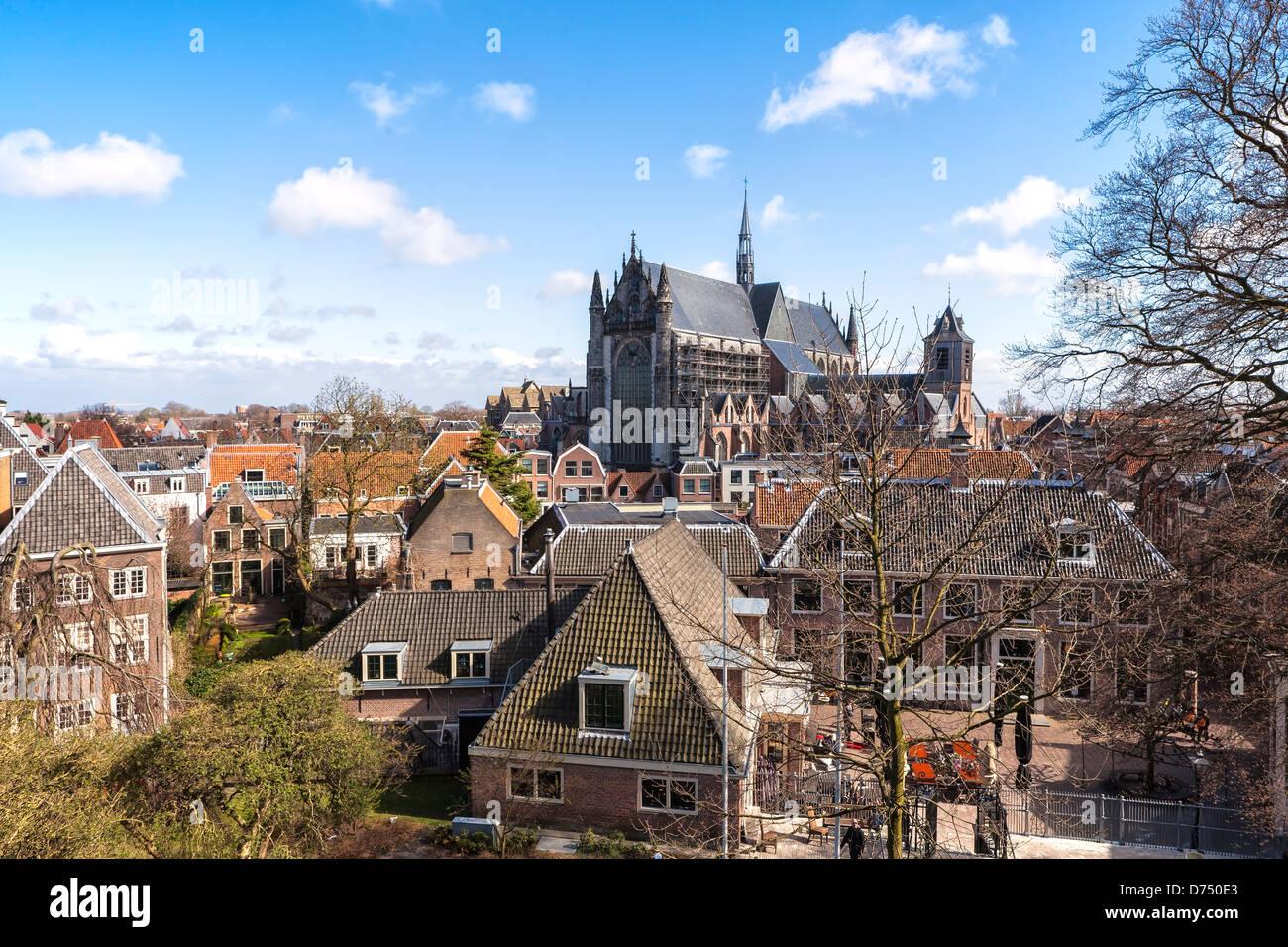 Hooglandse Kerk in Leiden, South Holland, Netherlands Stock Photo
