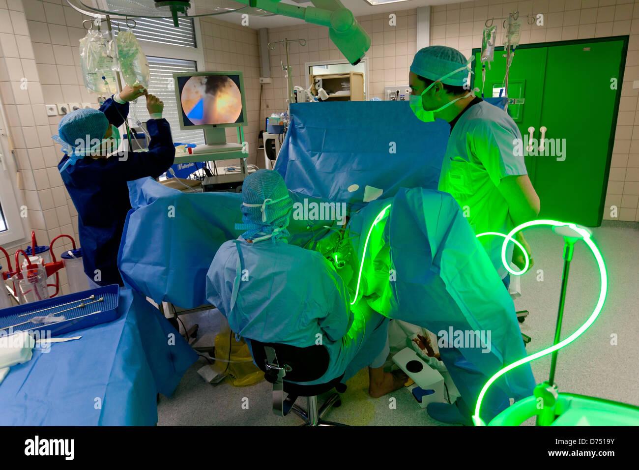 Treatment Benign Prostatic Hyperplasia (BPH) By Photoselective Vaporization  Prostate (PVP) Using Greenlight PV Laser System