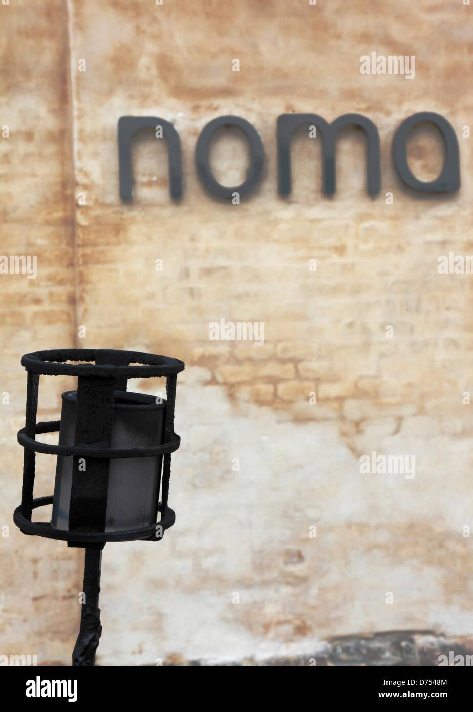 Copenhagen, Denmark. 29th April 2013. Will Danish Copenhagen restaurant Noma be titled the world's best restaurant Stock Photo
