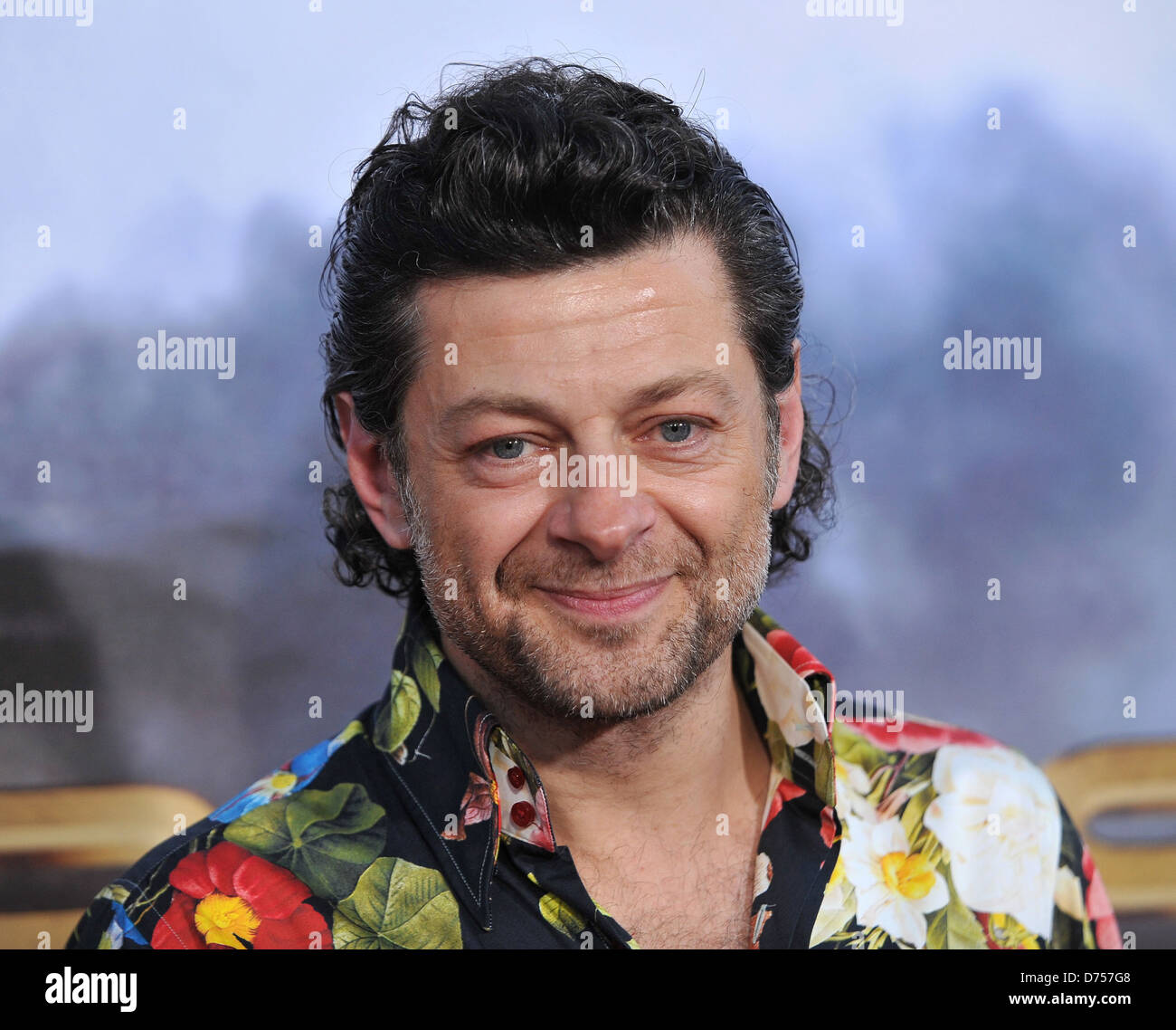 Andy Serkis 'Cowboys and Aliens' Premiere at Civic Theater - Arrivals San Diego, California - 23.07.11 - Stock Image