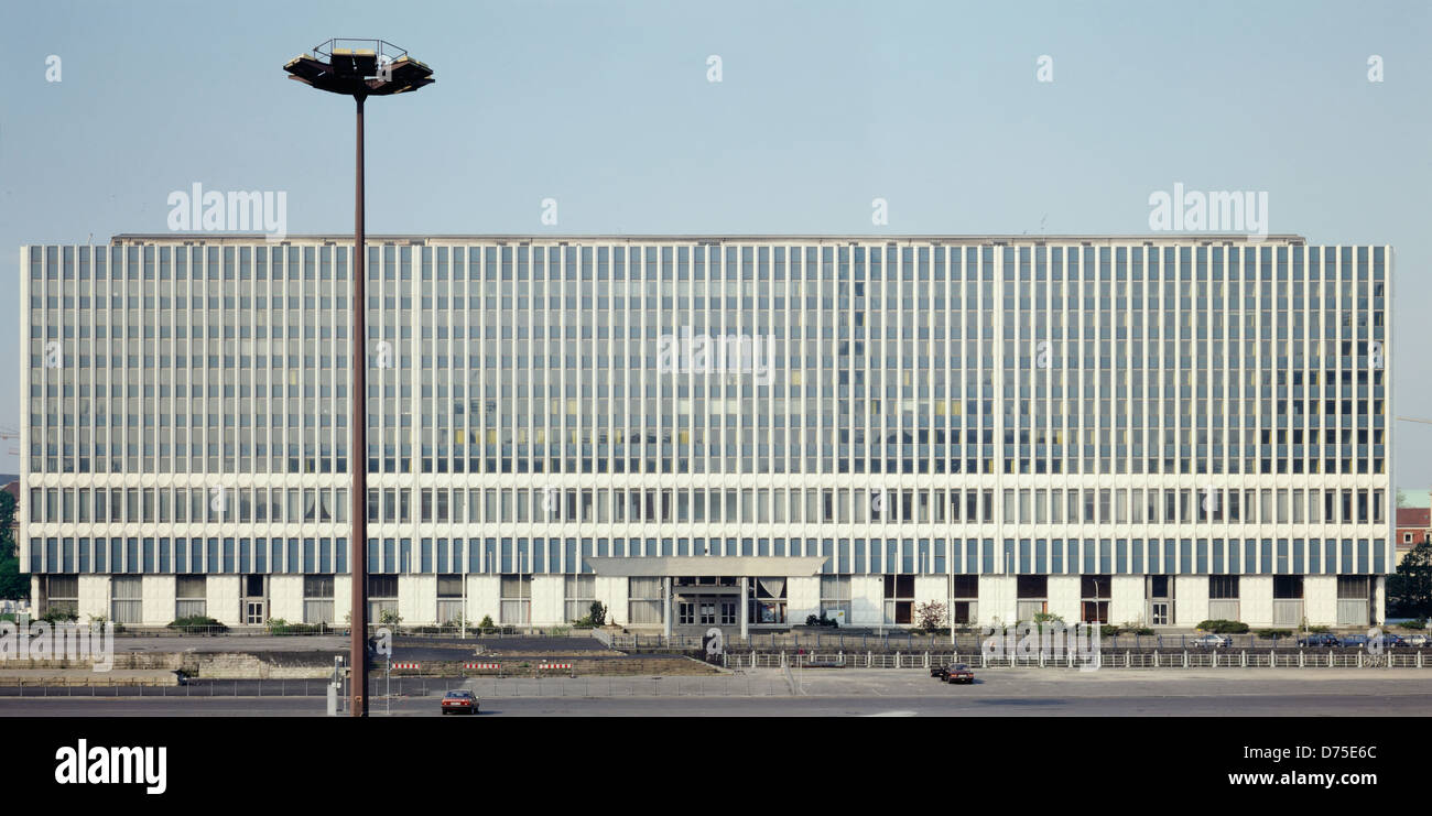 Berlin, Germany, Ministry of Foreign Affairs of the former GDR on Marx-Engels-Platz Stock Photo