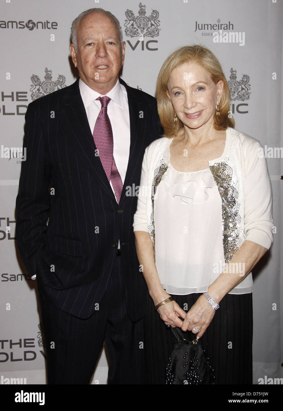 Peter J. Solomon and Susan Solomon The Old Vic Theatre Company Benefit held at Gotham Hall - Arrivals. New York - Stock Image
