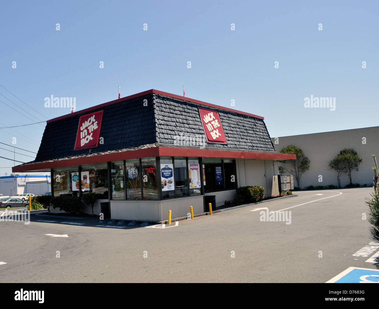 Jack In The Box Fast Food Restaurant South San Francisco