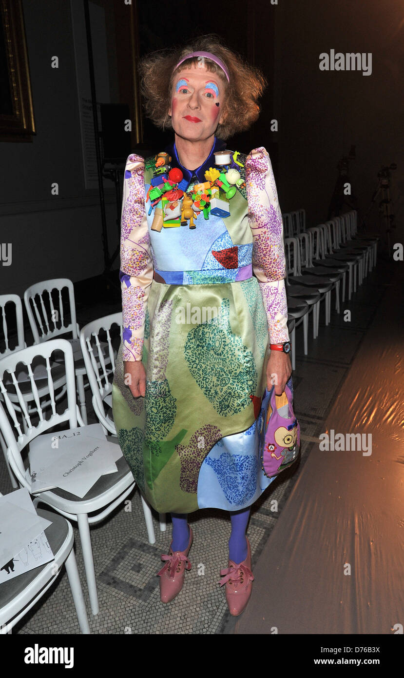 Grayson Perry London College Of Fashion Ma Fashion Design Technology Stock Photo Alamy