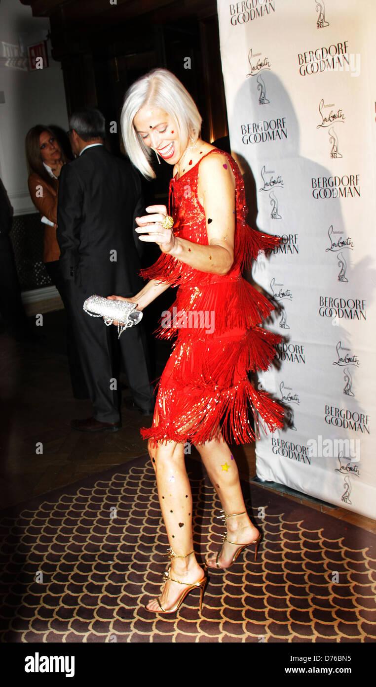 ab1a4445c001 Linda Fargo Bergdorf Goodman hosts 20th Anniversary Celebration of Legendary  Shoe Designer Christian Louboutin New -
