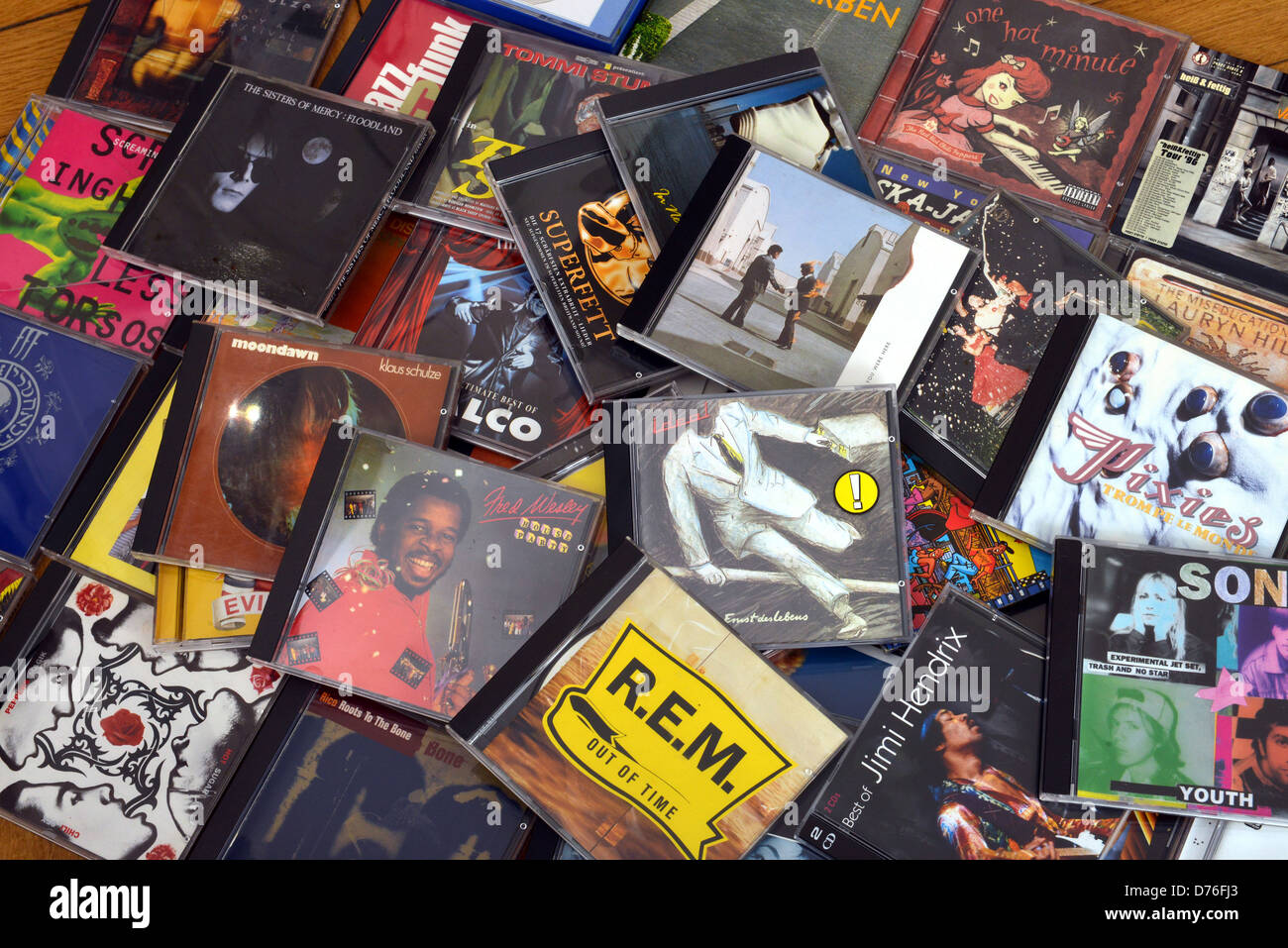 Music CDs Stock Photo: 56077675 - Alamy