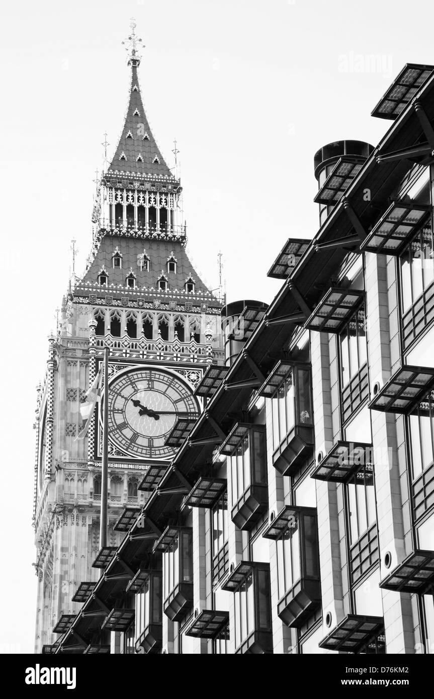 Big Ben, Westminster, London, UK - Stock Image